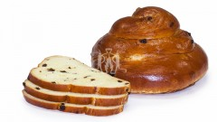 Challah Raisin Z-Round Thin Slice