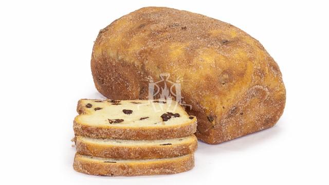Cinnamon Raisin Retail Loaf Sliced